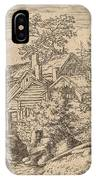 Hamlet On A Mountain Side IPhone Case