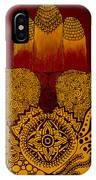 Hamsa- Brown IPhone Case