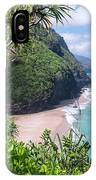 Hanakapiai Beach IPhone Case