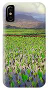 Hanalei Valley Taro Ponds IPhone Case