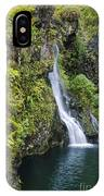 Hanawai Waterfall IPhone Case
