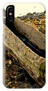 Hand Carved Canoe IPhone Case