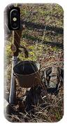 Hand Pump In The Fall IPhone Case