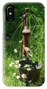 Hand Pump In The Spring IPhone Case