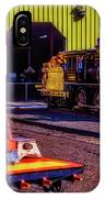 Handcar And Old Train IPhone Case