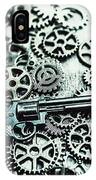Handguns And Gears IPhone Case