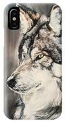 Handsome Wolf IPhone Case