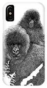Mommy And Me IPhone Case