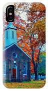 Hanover Church - Fall IPhone Case