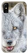 Happy Arctic Fox IPhone Case