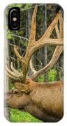Happy Elk IPhone Case