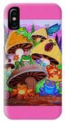 Happy Frog Valley IPhone Case