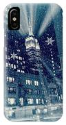 Happy Holidays From New York City IPhone Case