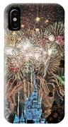 Happy New Year From Walt Disney World IPhone Case