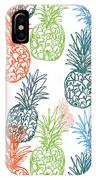 Happy Pineapple- Art By Linda Woods IPhone Case