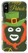 Happy St Patrick's Dave League Of Gentlemen Inspired Papa Lazarou  IPhone Case