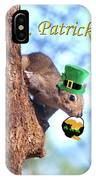 Happy St. Pat's Day Card IPhone Case