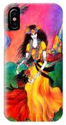Happy To Dance. Ameynra And Mother-queen IPhone Case