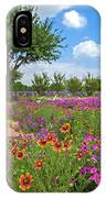 Happy Trail At The Farm IPhone Case