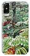 Hapu'u Fern Rainforest IPhone Case