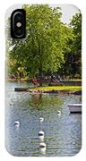 Harbor At Riverside Park IPhone Case
