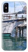 Harbor Scene Key West IPhone Case