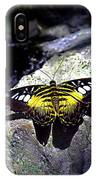 Hard Landing--clipper Butterfly IPhone Case