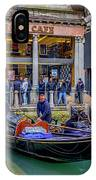 Hard Rock Cafe Venice Gondolas_dsc1294_02282017 IPhone Case