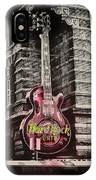 Hard Rock Philly IPhone Case