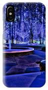 Harding Christmas Lights Hdr IPhone Case