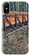 Hardy Creek Bridge IPhone Case