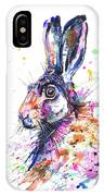 Hare In Grass IPhone Case