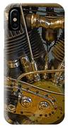 Harley 1918 Cycle Engine IPhone Case
