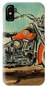 Harley Davidson 1956 Flh IPhone Case