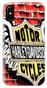 Harley Davidson Wings IPhone Case