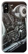 Harley Engine IPhone Case