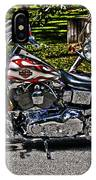 Harley In Hdr IPhone Case