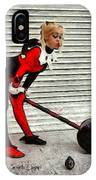 Harley Quinn Classic  - Free Style -  - Da IPhone Case