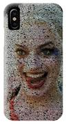 Harley Quinn Quotes Mosaic IPhone Case