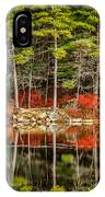 Harold Parker State Park In The Fall IPhone Case