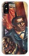 Harriet Tubman, Booker Washington IPhone Case