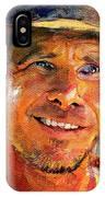 Harrison Ford Indiana Jones Portrait 3 IPhone Case