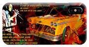Harry Chapin Taxi Song Poster With Lyrics IPhone Case