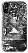 Harry Easterling Bridge Peak Sc Black And White IPhone Case
