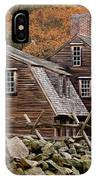 Hartwell Tarvern In Autumn IPhone Case