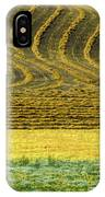 Harvested Fields Of The Palouse IPhone Case