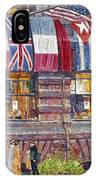 Hassam: Allied Flags, 1917 IPhone Case