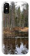 Haukkajoki 1 IPhone Case