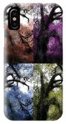 Haunting Beauty Of Hues IPhone Case
