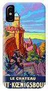 Haut Koenigsburg Castle, Alsace, France IPhone Case